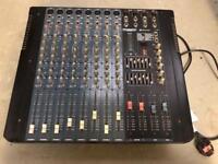 Multi-track sound mixing desk - full band /dj/ singer bar pub