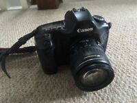 Selling my Canon EOS5D camera with a Canon ultrasonic 58mm lens, battery and charger included