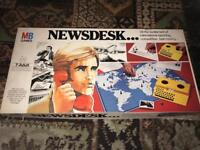 MB Newsdesk board game New