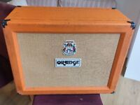 """Orange PPC212OB Open Back 2x12"""" Celestial Road Used and Worn Cab Guitar Cabinet"""