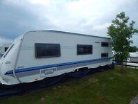 Hobby 650 KMFE Prestige for sale - 2005 model, 6 berth.