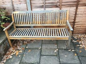 Garden 3 seater bench