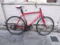 Carrera Zelos racing / road bicycle bike (for parts)