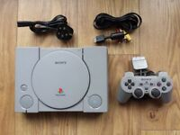 Sony PlayStation 1 Video Games Console