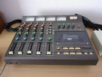Tascam 244 four track recorder with instruction manual