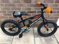 """Halfords Appollo Starfigther Bike 16"""" Ideal first bike in excellent condition."""