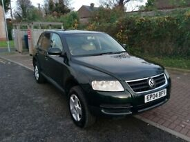 2004 Volkswagen Touareg 2.5 TDI 5dr Auto @07445775115 6 Months Warranty Included
