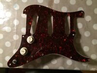Fender 1997 American Strat Pickguard Harness Pots USA Stratocaster