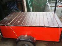 Car trailer refurbished 5ft by 3ft