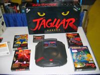 Do you have any old games consoles ? - ATARI JAGUAR console & games wanted