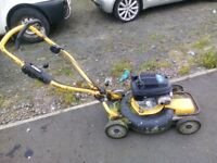 stiga honda powered mulcher £125