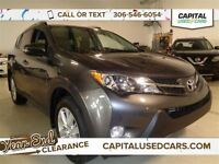2014 Toyota RAV4 Limited *4X4, Leather, Heated Seats, Nav*