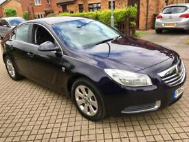 VAUXHALL INSIGNIA 2012 SAT NAV £30 A YEAR ROAD-TAX PARKING CENSORS ONLY 64K MILES HPI CLEAR