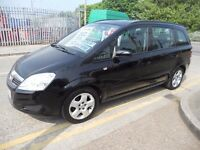 (2008)VAUXHALL ZAFIRA EXCLUSIVE 1.6.CC..FULL HISTORY .(7 SEATER).............