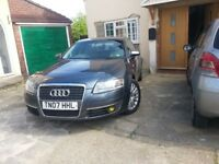Audi A6 2.0D Automatic/Auto 7 speed + (sports gear), Full Stamped Service history 107K, MOT June 19
