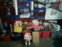 Huge carboot bundle, joblot of items, 7 boxes full + lots more