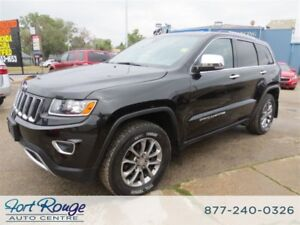 2014 Jeep Grand Cherokee Limited 4WD - NAV/SUNROOF/LEATHER