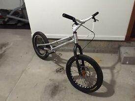 Custom trialtech trials bike