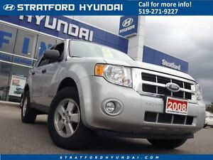 2008 Ford Escape XLT 2.3L | AUTO | LOCAL TRADE-IN | FUEL SAVER!