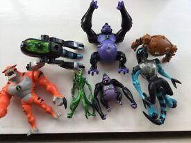 Ben Ten action figures various