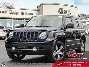 2016 Jeep Patriot DEMO | HIGH ALTITUDE | 4X4 | HEATED SEATS |