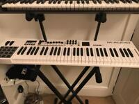 M-audio Code 61 MIDI keyboard