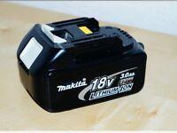 Makita battery's wanted
