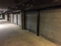 Garage for rent in West London - lock-up, CCTV and covered secure location in a block of flats