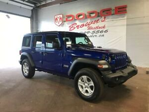 2018 Jeep All-New Wrangler Unlimited Sport 4DR 4X4 / E-Torque Tu