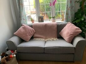Large 2 seater next sofa