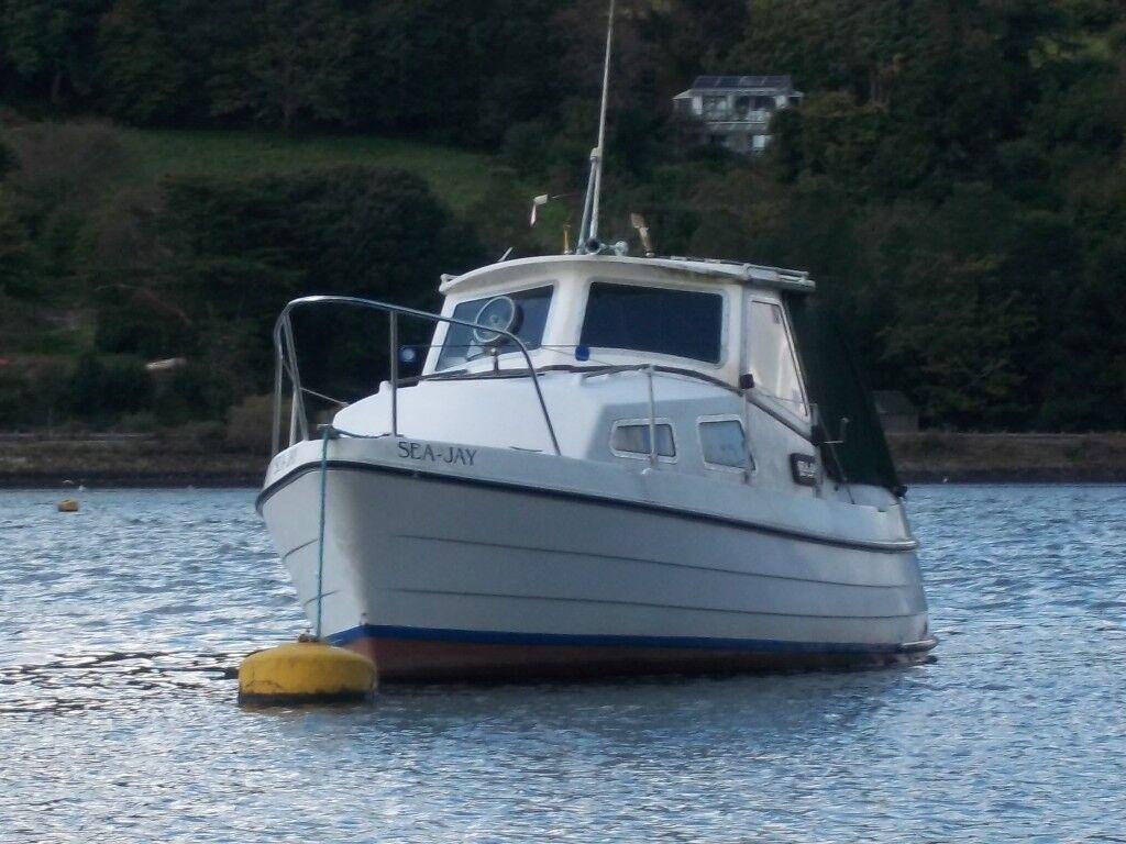 Motor boat for sale (Starley Sundowner) | in St Austell, Cornwall | Gumtree
