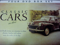 CLASSIC CARS ON SHOW - FOUR DVD BOX SET