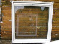 VELUX Window white pvc finish 134cm x 140 cm