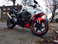 Hyosung gt125r, very good condition with low milage 5470