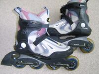 Lady's K2 roller skates