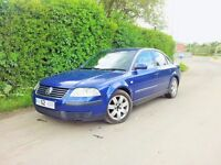 VW Volkswagen Passat 1.9 TDi SPORT PD 130 2002 Spares or repair breaking AVF engine parts alloys vag
