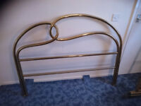 Fabulous brass bed surround for standard double sized bed cost new £650!