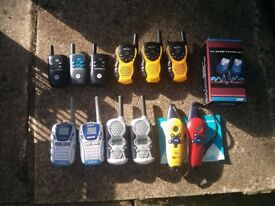 Collection of Walkie Talkies.