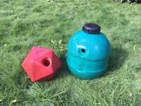 Horse feed ball, boredom ball, Equiball, drip Feed ball