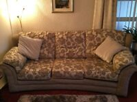 3 seaters sofa and chair
