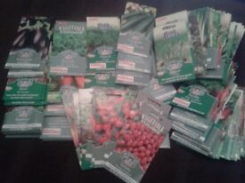 Vegetable / Herb Seeds 25+ Packets Dated 'Sew By 2016'