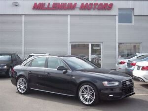 2013 Audi A4 2.0T AWD S-LINE  / NAVIGATION / SUNROOF/ MUST SEE