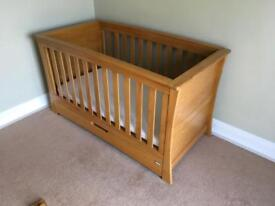 Mamas and Papas Ocean Cot Bed, Chest of drawers and shelf (ALL 3 INCLUDED IN PRICE)