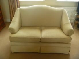Parker Knoll sofas and footstool