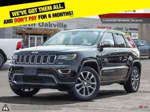 2018 Jeep Grand Cherokee Limited | HEATED & VENTED LEATHER | LUX