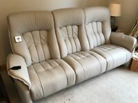Himolla 3 seater electric couch - brand new