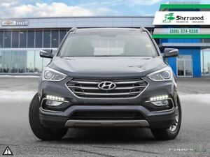 2018 Hyundai Santa Fe Sport Leather & Roof Only 5,700kms!!!