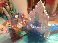 Elsa snow castle