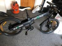 Storm electric mountain bike needs battery