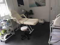 Large treatment room to let in tanning salon